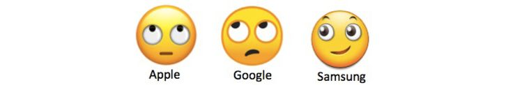 different emojis on different phones