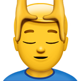 head massage emoji