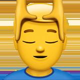 head massage emoji